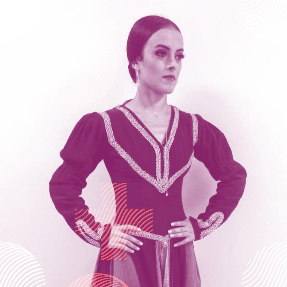 Professora Giovanna Acácio - Novare.dance