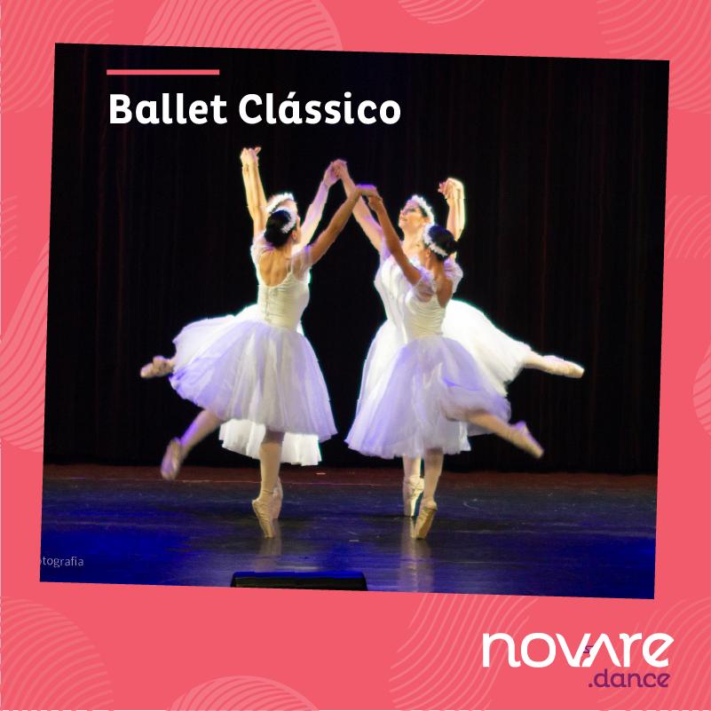 Espetáculo Ballet Clássico adulto